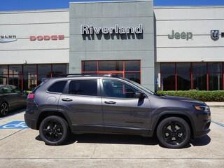 New 2019 Jeep Cherokee ALTITUDE FWD Sport Utility 1C4PJLLB9KD450591 in Laplace, LA