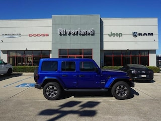 New 2019 Jeep Wrangler UNLIMITED SAHARA 4X4 Sport Utility 1C4HJXEG2KW569009 in Laplace, LA