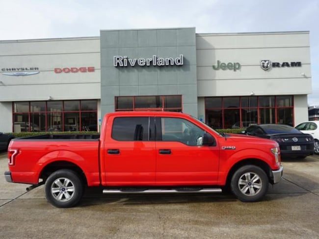 Used 2016 Ford F-150 XLT Truck SuperCrew Cab For Sale LaPlace, LA