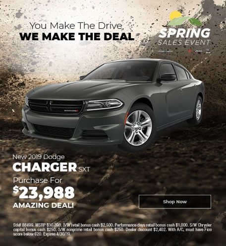 April 2019 2019 Dodge Charger SXT