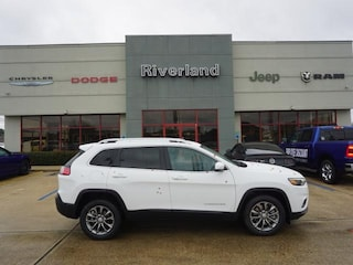 New 2019 Jeep Cherokee LATITUDE PLUS FWD Sport Utility 1C4PJLLB0KD333451 in Laplace, LA