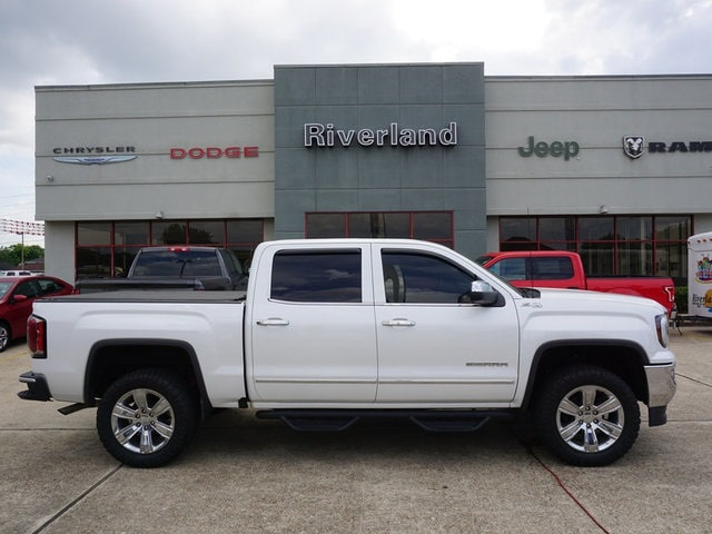 Used 2017 GMC Sierra 1500 SLT Truck Crew Cab For Sale with Laplace, LA