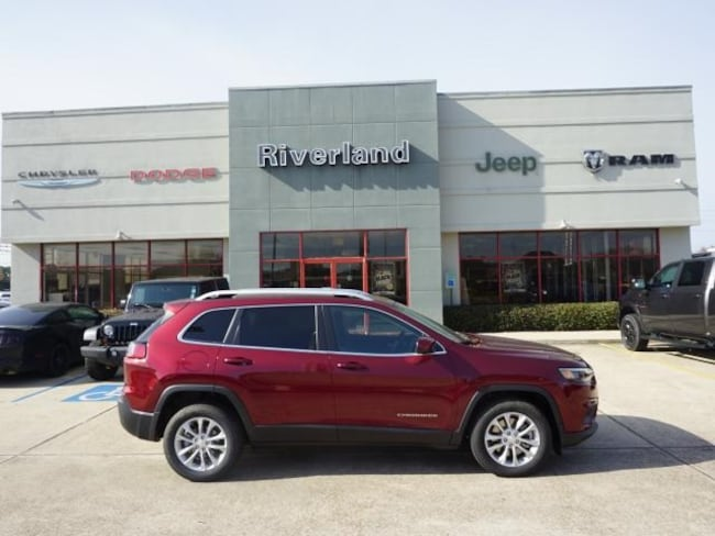 New 2019 Jeep Cherokee LATITUDE FWD Sport Utility in Laplace, LA