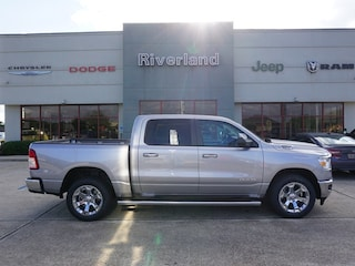 New 2019 Ram 1500 BIG HORN / LONE STAR CREW CAB 4X2 5'7 BOX Crew Cab 1C6RREFT2KN822209 in Laplace, LA