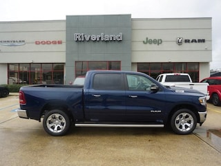 New 2019 Ram 1500 BIG HORN / LONE STAR CREW CAB 4X2 5'7 BOX Crew Cab 1C6RREFT3KN680114 in Laplace, LA