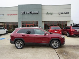 New 2019 Jeep Cherokee LATITUDE PLUS FWD Sport Utility 1C4PJLLB8KD326991 in Laplace, LA