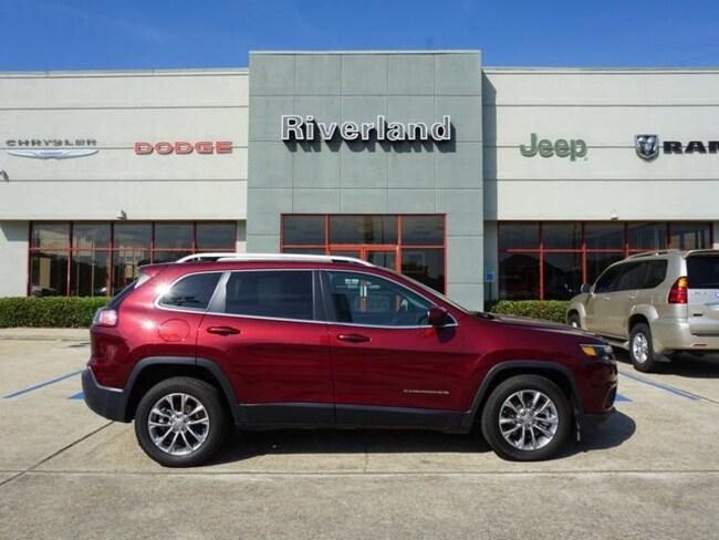 Used 2019 Jeep Cherokee Latitude Plus FWD SUV For Sale LaPlace, LA