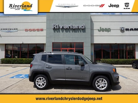 New 2020 Jeep Renegade LATITUDE FWD Sport Utility For Sale in Laplace, LA
