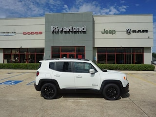 New 2018 Jeep Renegade ALTITUDE 4X2 Sport Utility ZACCJABB5JPH81009 in Laplace, LA