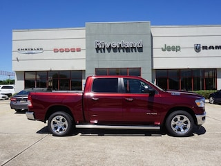 New 2019 Ram 1500 BIG HORN / LONE STAR CREW CAB 4X2 5'7 BOX Crew Cab 1C6RREFT4KN826116 in Laplace, LA