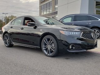 New 2019 Acura TLX 3.5 V-6 9-AT P-AWS with A-SPEC RED Sedan For Sale in Little Rock AR