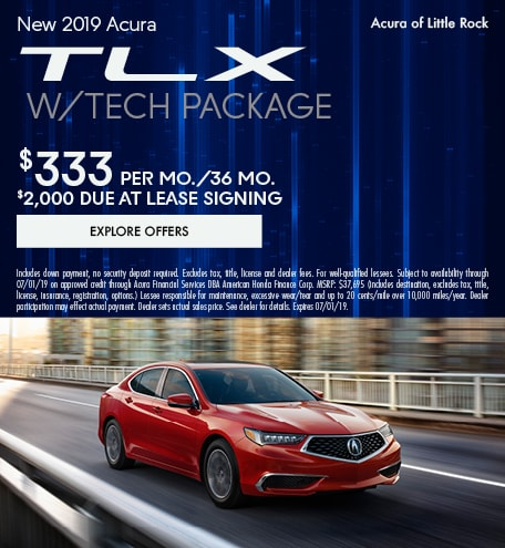 2019-TLX with Tech Package-June