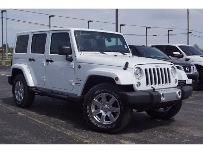New 2018 Jeep Wrangler Unlimited WRANGLER JK UNLIMITED SAHARA 4X4 Sport Utility in Muskogee