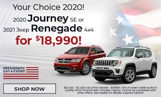 Your Choice 2020! Journey and Renegade - February