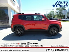 New 2018 Jeep Renegade ALTITUDE 4X4 Sport Utility 13008 near Escanaba, MI