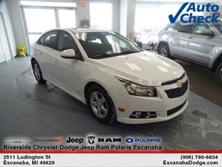 Certified Pre-Owned 2014 Chevrolet Cruze Sedan 1G1PC5SB4E7473019 for Sale in Escanaba, MI