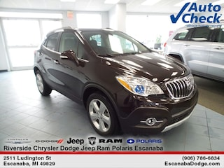 Certified Pre-Owned 2015 Buick Encore Leather SUV KL4CJGSB6FB085614 for Sale in Escanaba, MI