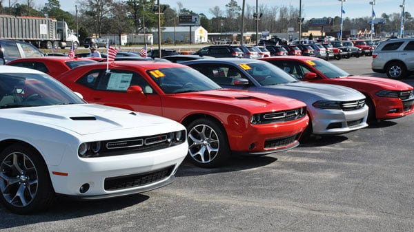 Dodge Charger Line Up at Riverside CJDR