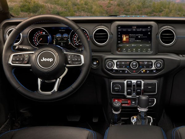 2021 Jeep Wrangler 4xe Plug-In Hybrid Interior