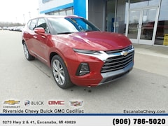 New 2019 Chevrolet Blazer Premier SUV 13986 near Escanaba, MI