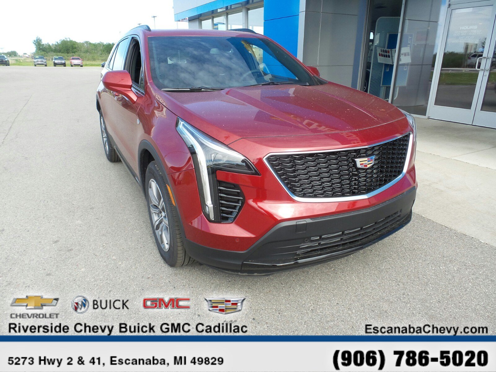 new 2019 cadillac xt4 for sale at riverside chevrolet buick gmc cadillac vin 1gyfzfr47kf212154 riverside chevrolet buick gmc cadillac