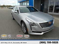 New 2018 CADILLAC CT6 3.6L Luxury Sedan near Escanaba, MI
