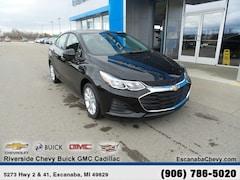 New 2019 Chevrolet Cruze LS Sedan near Escanaba, MI