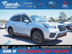 New 2019 Subaru Forester Sport SUV for sale in New Bern, NC at Riverside Subaru