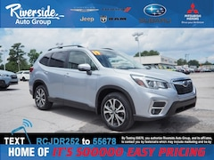 New 2019 Subaru Forester Limited SUV for sale in New Bern, NC at Riverside Subaru