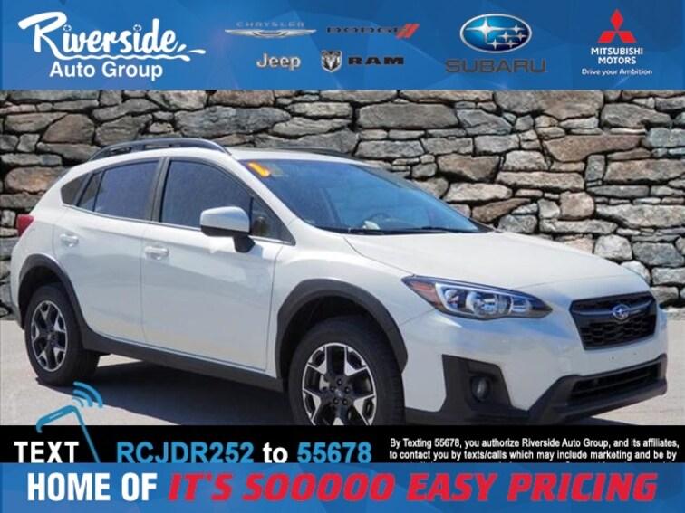 Certified 2019 Subaru Crosstrek 2.0i Premium SUV for sale in New Bern, NC at Riverside Subaru