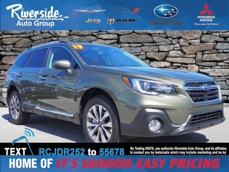 New 2019 Subaru Outback 2.5i Touring SUV for sale in New Bern, NC at Riverside Subaru