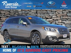 Certified 2017 Subaru Outback 2.5i SUV 4S4BSANC0H3343618 for sale in New Bern, NC at Riverside Subaru