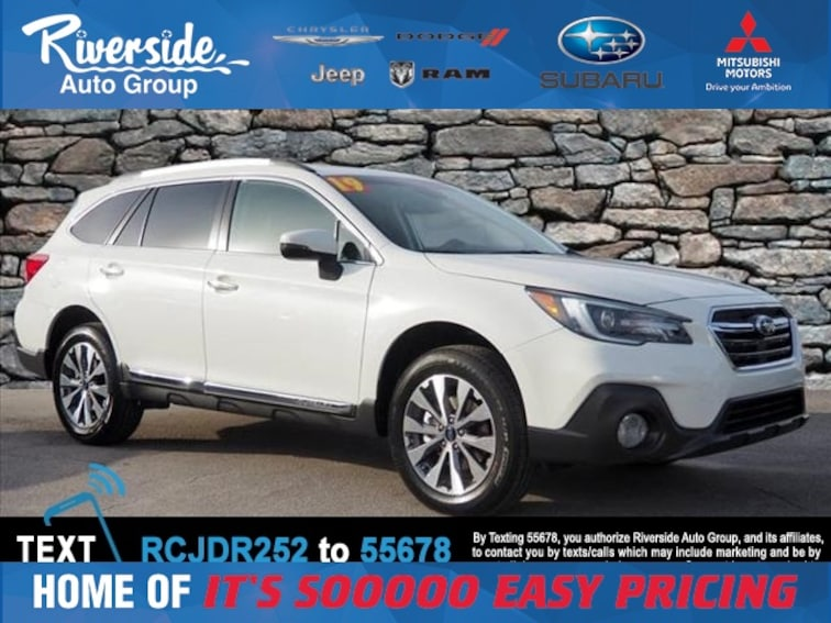 New 2019 Subaru Outback 2.5i SUV for sale in New Bern, NC at Riverside Subaru