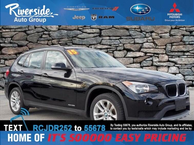 Used 2015 BMW X1 Xdrive28i SUV for sale in New Bern, NC at Riverside Subaru