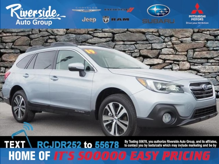 New 2019 Subaru Outback 3.6R Limited SUV for sale in New Bern, NC at Riverside Subaru