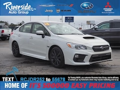 Certified 2018 Subaru WRX Base Sedan JF1VA1A64J9812254 for sale in New Bern, NC at Riverside Subaru