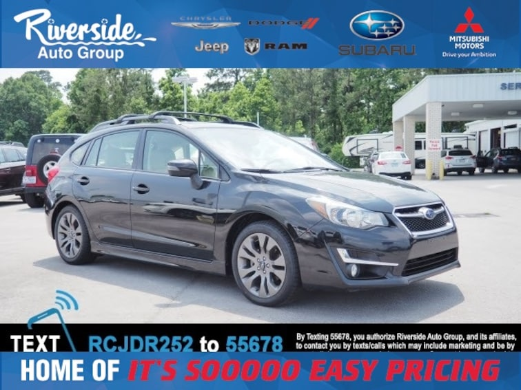 Used 2015 Subaru Impreza 2.0i Sport Limited Hatchback for sale in New Bern, NC at Riverside Subaru