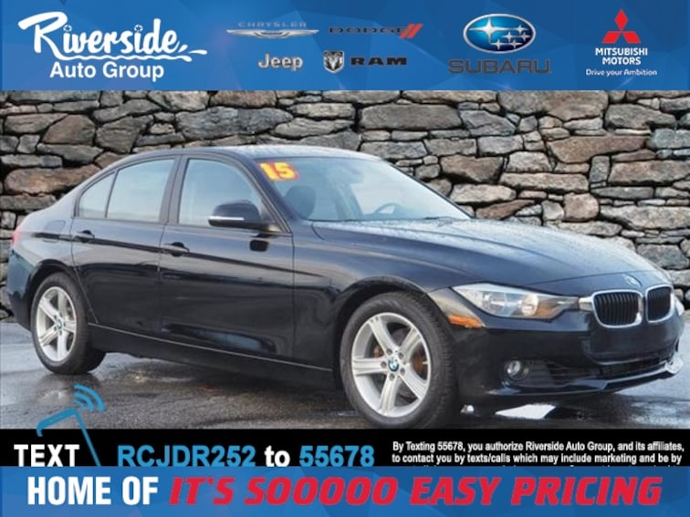 Used 2015 BMW 3 Series 328i Sedan for sale in New Bern, NC at Riverside Subaru