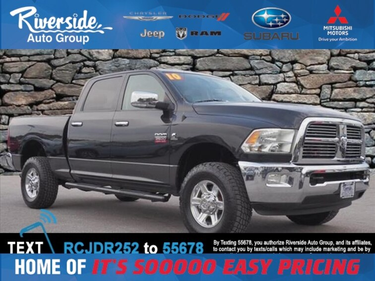 Used 2010 Dodge Ram 2500 Laramie Truck for sale in New Bern, NC at Riverside Subaru