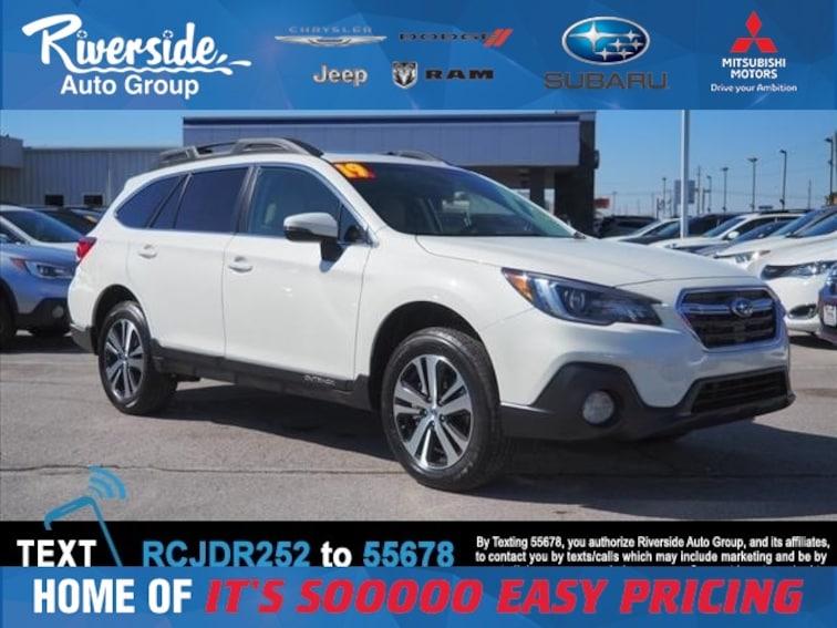 New 2019 Subaru Outback 2.5i SUV for sale in New Bern, NC at Riverside Subaru