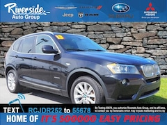 Used 2013 BMW X3 xDrive28i SUV for sale in New Bern, NC at Riverside Subaru