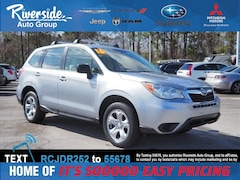 Certified 2016 Subaru Forester 2.5i SUV JF2SJAAC4GH502432 for sale in New Bern, NC at Riverside Subaru