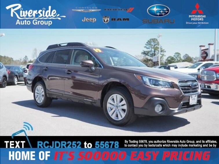 New 2019 Subaru Outback 2.5i Premium SUV for sale in New Bern, NC at Riverside Subaru