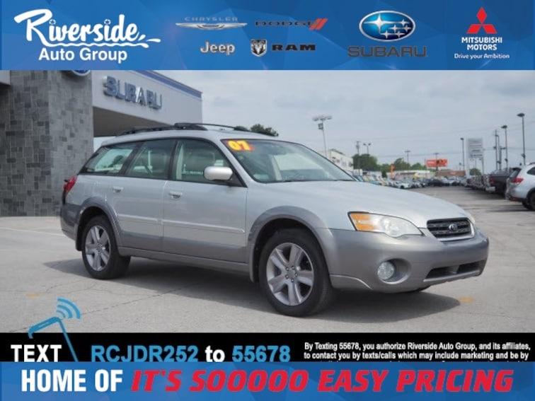 Used 2007 Subaru Outback 2.5i Wagon for sale in New Bern, NC at Riverside Subaru