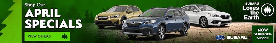 Shop Our New Vehicle Specials - April