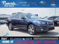Certified 2018 Subaru Outback 2.5i SUV 4S4BSANC2J3312358 for sale in New Bern, NC at Riverside Subaru