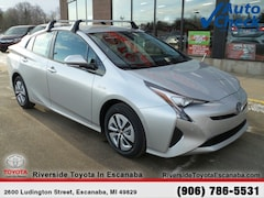 New 2018 Toyota Prius Two Hatchback JTDKBRFUXJ3058568 near Escanaba, MI