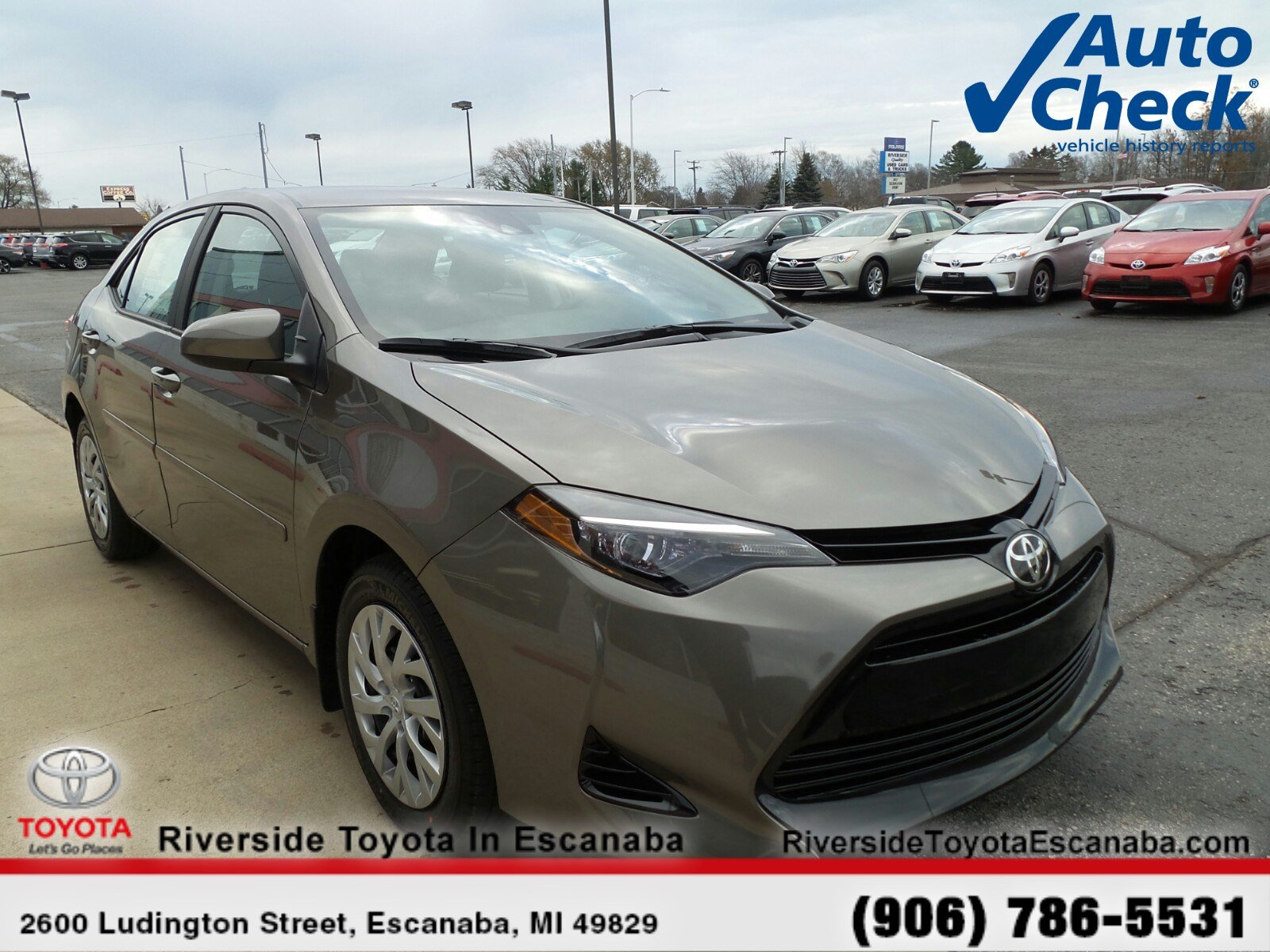 New Featured Vehicles Riverside Toyota In Escanaba