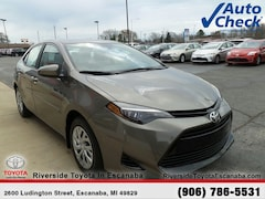 New 2018 Toyota Corolla LE Sedan 20576 near Escanaba, MI