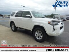 New 2018 Toyota 4Runner SR5 SUV 20760 near Escanaba, MI